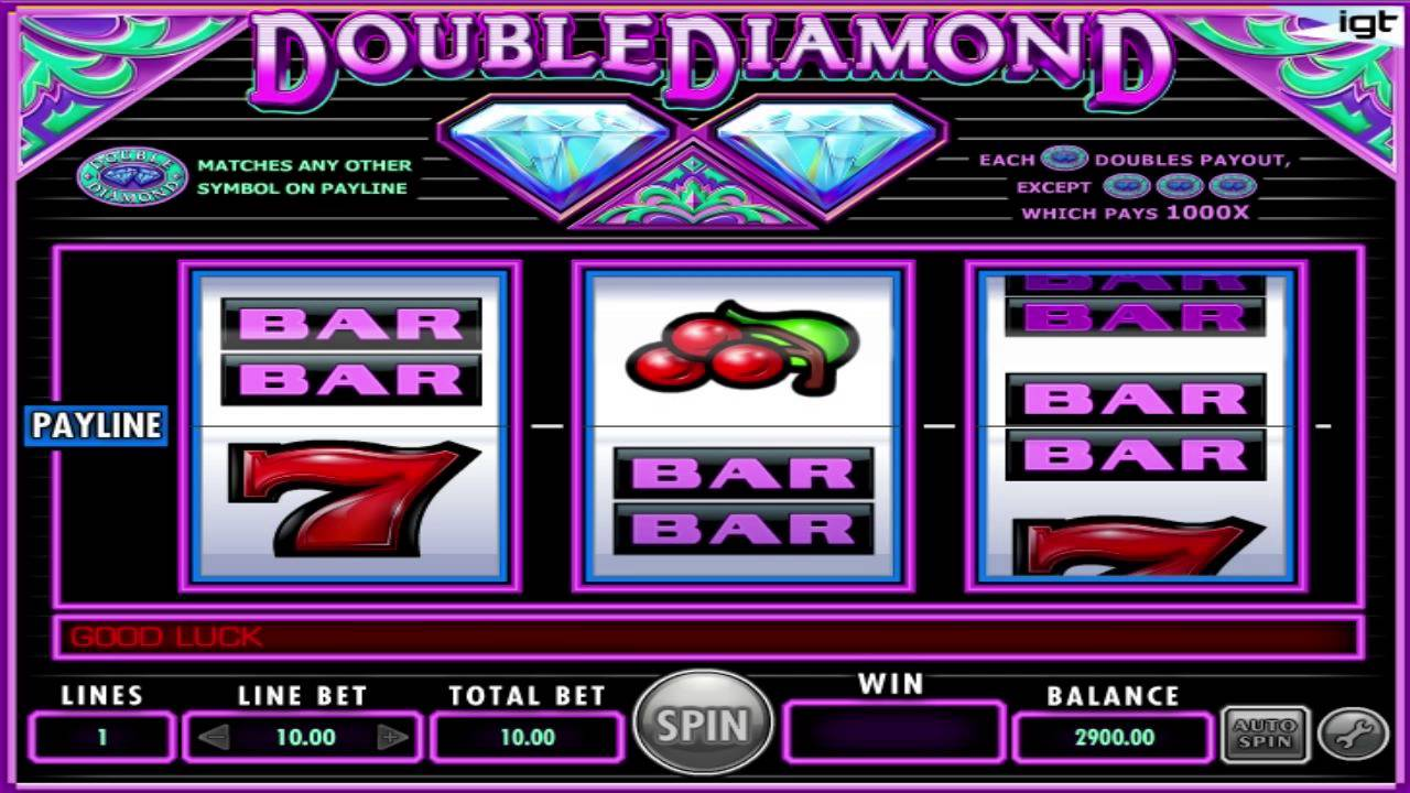 machine sou gratuit double diamond