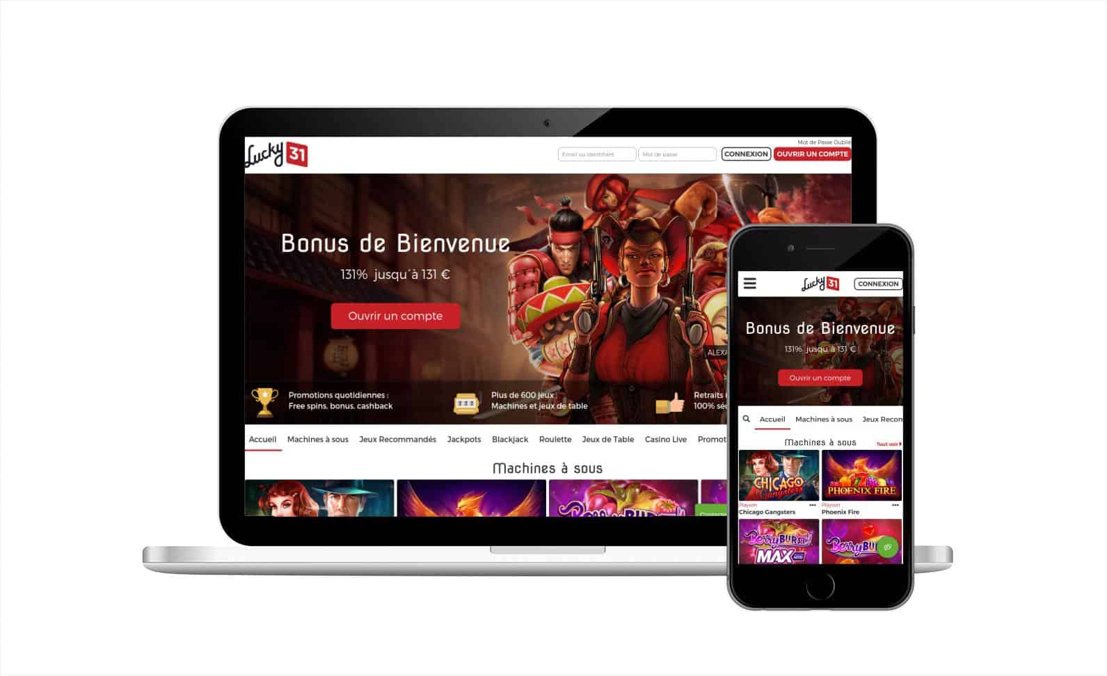 Casino lucky31 avis : un casino en ligne qui mérite l'attention